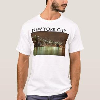 T-Shirt Mann Vert - New York City