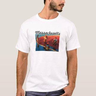 T - Shirt Massachusetts (Moosbeere)