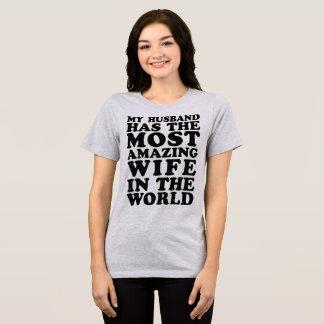 T - Shirt mein Ehemann hat die meiste fantastische