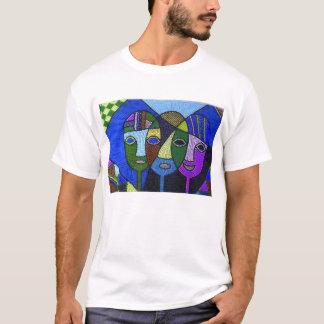 T - Shirt mit afrikanischem Entwurf