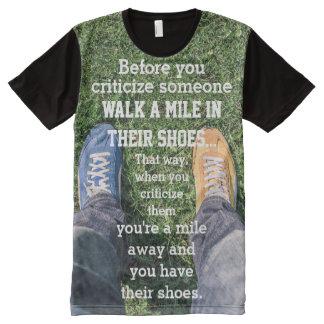 T-Shirt MIT BEDRUCKBARER VORDERSEITE