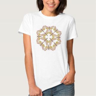 T - Shirt mit einer schönen Falkemotte