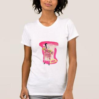 T-Shirt mit heller Painterly Dose kann Entwurf