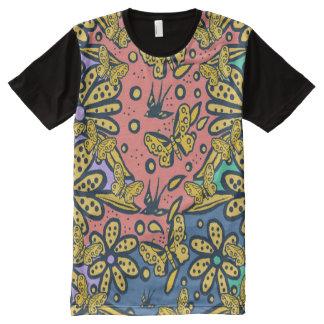 T-Shirt MIT KOMPLETT BEDRUCKBARER VORDERSEITE
