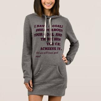 T - Shirt mit langen Hülsen und motivierend Slogan