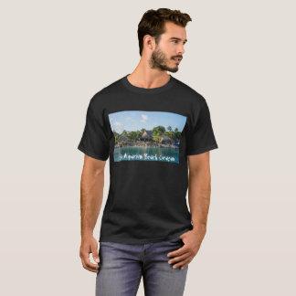 T - Shirt mit Seeaquarium-Strand Curaçao Entwurf