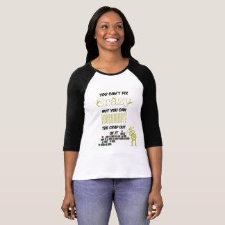 """T-Shirt mit Spruch """"Crazy"""""""