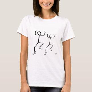 T - Shirt mit zwei Bhangra Tänzern