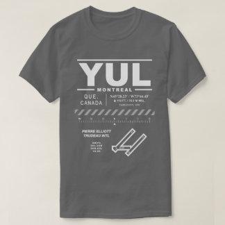 T - Shirt Montreals Trudeau internationalen