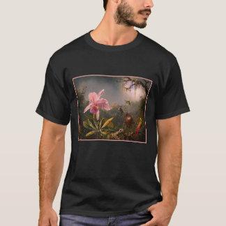 T - Shirt: Orchidee und Kolibris T-Shirt