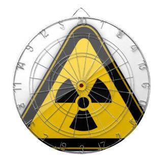 T-Shirt Radiation_Hazard_Warning_ Dartscheibe