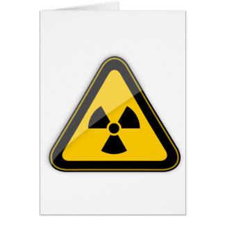 T-Shirt Radiation_Hazard_Warning_ Karte