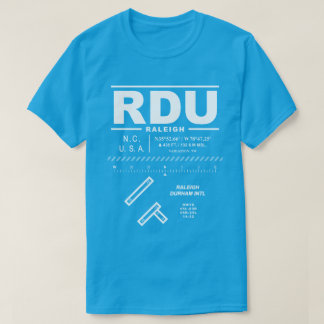 T - Shirt Raleighs Durham internationalen