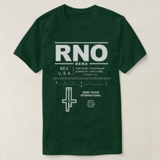 T - Shirt Reno Tahoe internationalen Flughafen-RNO