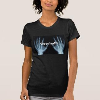 T - Shirt, Röntgenstrahl, gotcha, Comic, Halloween T-shirt