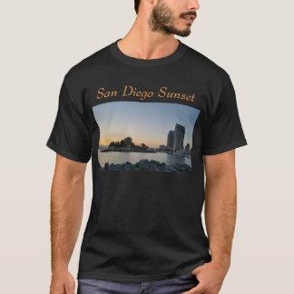 T - Shirt - San Diego Sonnenuntergang