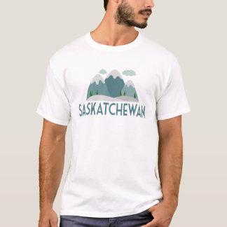 T - Shirt Saskatchewans Kanada - Snowy-Berg