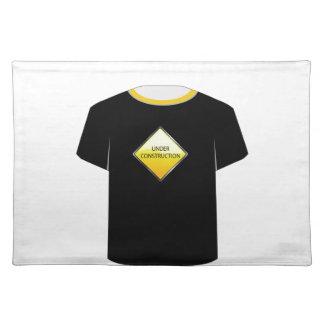 T-Shirt Schablone im Bau Tisch Set