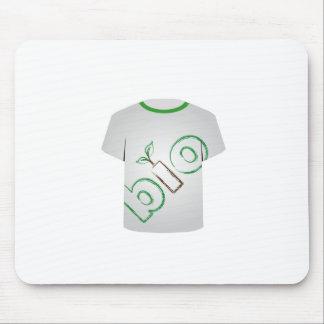 T-Shirt Schablone ökologisch Mousepads