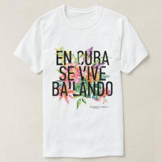 T - Shirt Se Vive Bailando Men en-KUBA