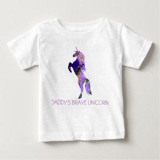 T - Shirt Unicorn-tapferer Baby-Geldstrafe-Jerseys