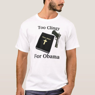 T-SHIRT, zu Clingy, für Obama T-Shirt