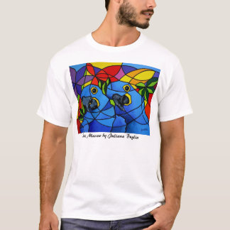 T - Shirtblauer Macaw - Camiseta Arara Azul T-Shirt