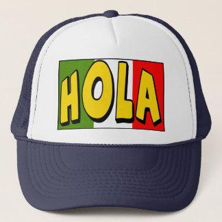 T - Shirts und Geschenke Cinco Des Mayo Hola Truckerkappe