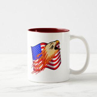 T-Shirts und Geschenke FlammensEagle Kaffeehaferl