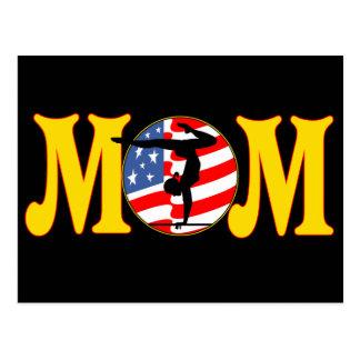T - Shirts und Geschenke für Gymnastik-Mamma Postkarte