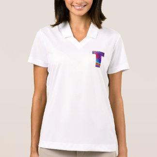 T-STÜCK ALPHA T Alphabet: Anfangsname Polo Shirt