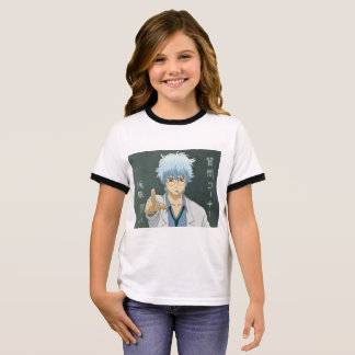 T-Stück - Anime Ringer T-Shirt