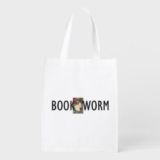 T-STÜCK Buch-Wurm Wiederverwendbare Einkaufstasche
