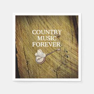 T-STÜCK Countrymusik für immer Papierservietten