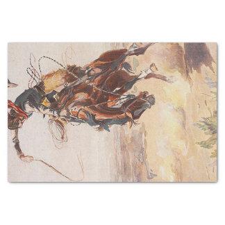 T-STÜCK Cowboy-Leben Seidenpapier