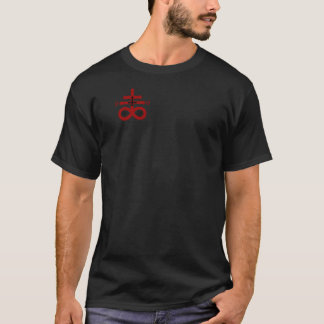 T-Stück der Dunkelheits-666 T-Shirt