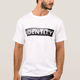 T-Stück der Identitäts-B&W - Männer T-Shirt