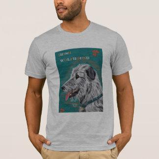 T-Stück des irischen Wolfhound T-Shirt