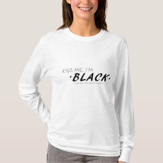"T-Stück die Lang-Hülse der Frauen ""küssen mich, T-Shirt"