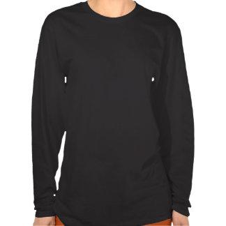 T-Stück die Lang-Hülse der Partei-Frauen T-shirt