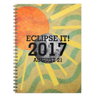 T-STÜCK Eklipse es 2017 Spiral Notizblock