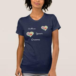 """T-Stück """"folgen Sie Ihrer Träume"""" T-Shirt"""