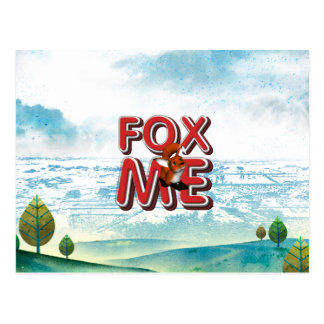 T-STÜCK Fox ich Postkarten