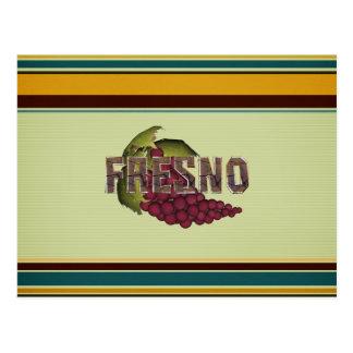 T-STÜCK Fresno Postkarte