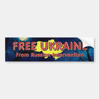 T-STÜCK geben Ukraine frei Autoaufkleber