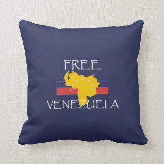 T-STÜCK geben Venezuela frei Kissen