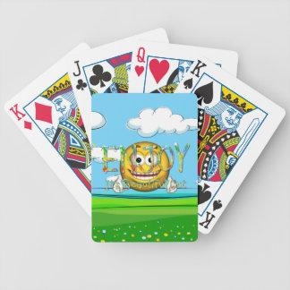 T-STÜCK genießen Bicycle Spielkarten