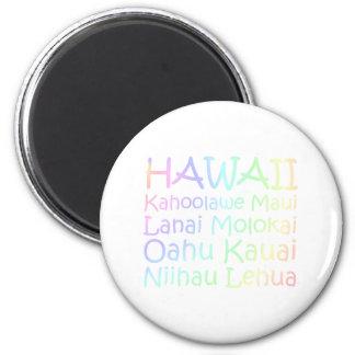T-STÜCK Hawaii Runder Magnet 5,1 Cm