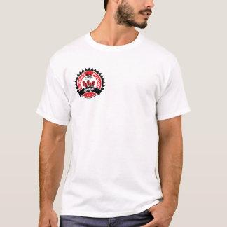 T-Stück Höhlen-Aufenthaltsraum-Sonntags Funday - T-Shirt