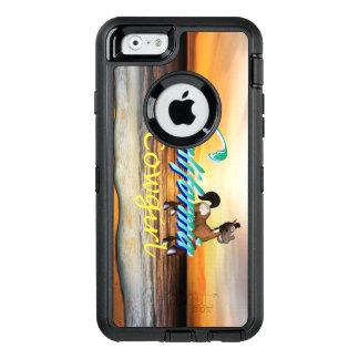 T-STÜCK Kalifornien-Cowgirl OtterBox iPhone 6/6s Hülle